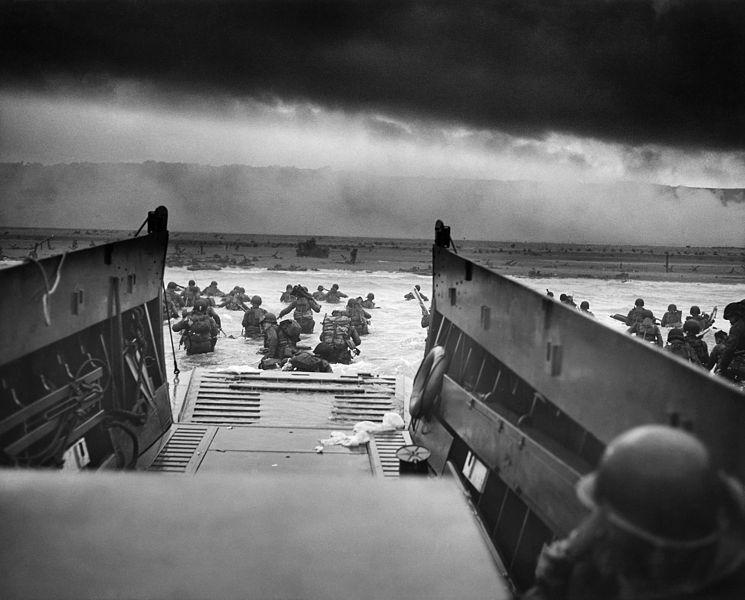 Débarquement à Omaha Beach