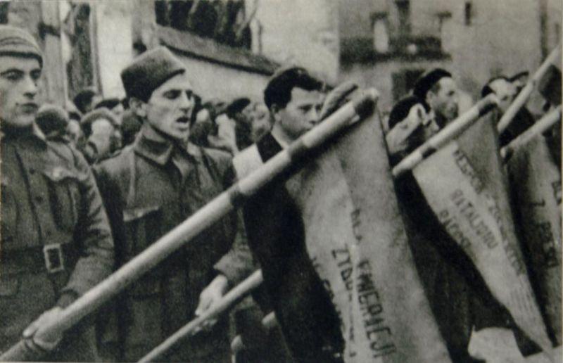Guerre d'Espagne - Milicien