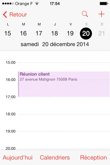Ecran iPhone 4 événement