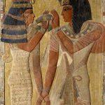 Hathor accueille Sethi