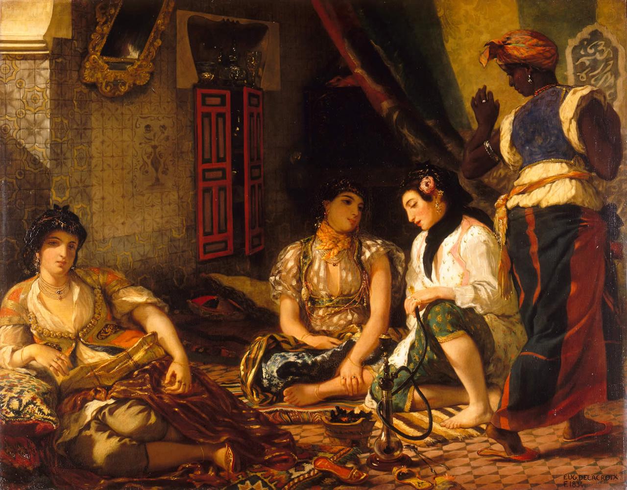 Delacroix exposition louvre femmes d'Alger