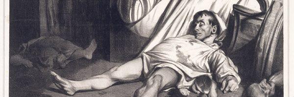 Massacre de la rue Transnonain Daumier