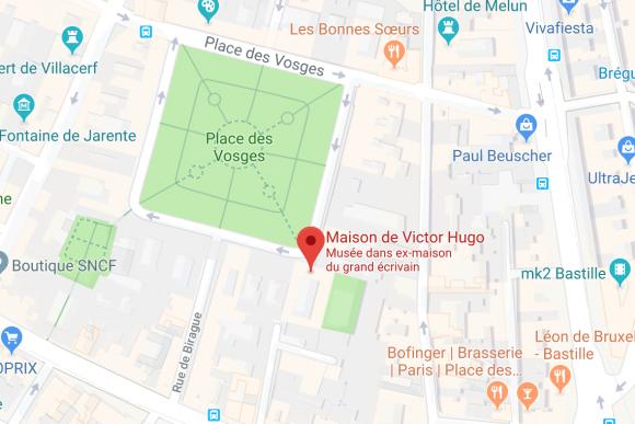 Victor Hugo visite guidée les Misérables Paris