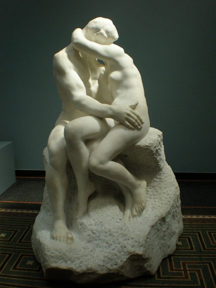 Le baiser Rodin