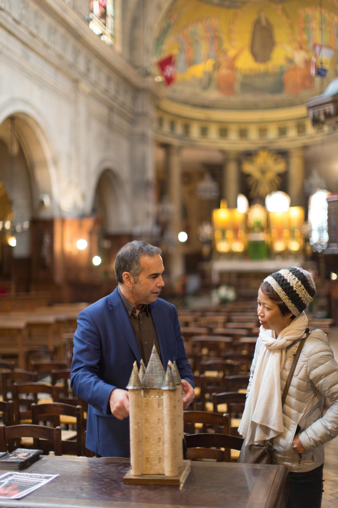 Visite guidée Templiers à Paris