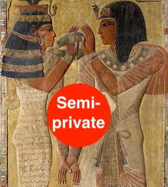 Louvre Egypt private guide