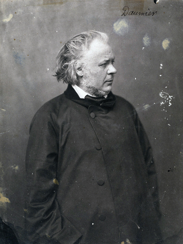 Nadar Honoré Daumier 1856/1858