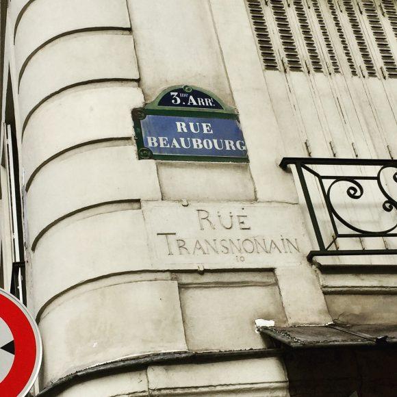 rue Transnonain Paris