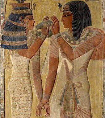Egypte sensuelle Louvre